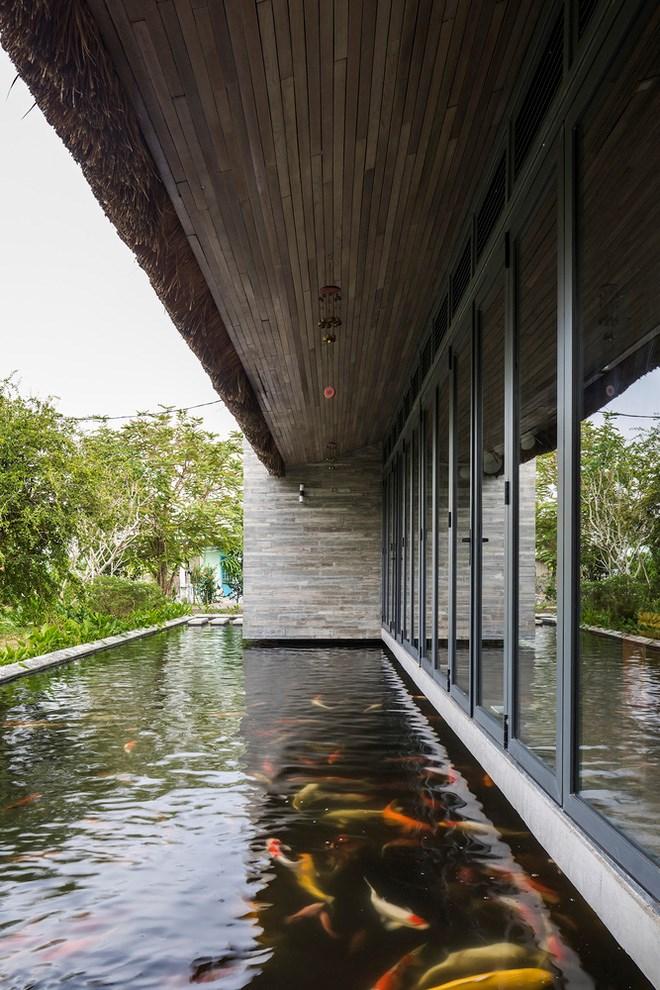 Giám đốc marketing về miền Tây xây biệt thự nhà vườn hệt như một ốc đảo riêng tư, có cả hồ cá Koi ngắm mà ghen tị - Ảnh 15