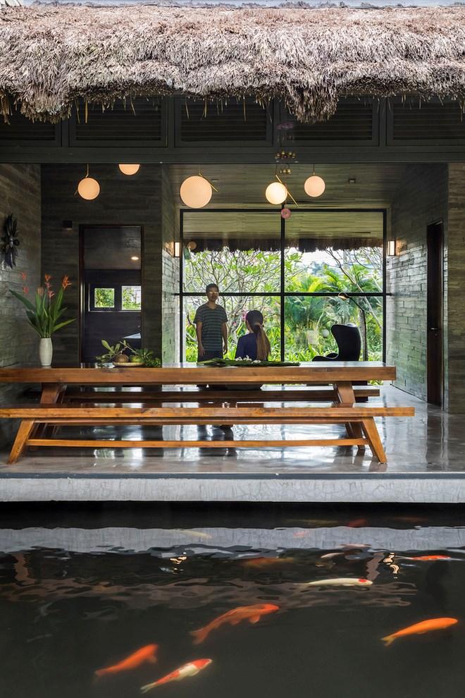 Giám đốc marketing về miền Tây xây biệt thự nhà vườn hệt như một ốc đảo riêng tư, có cả hồ cá Koi ngắm mà ghen tị - Ảnh 14