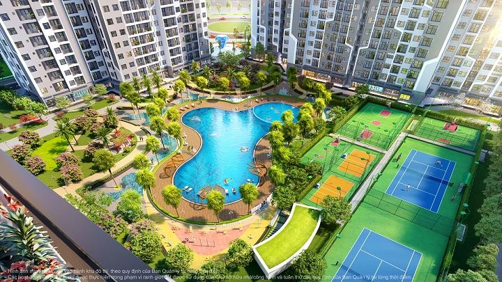 """Tòa căn hộ GS1 sở hữu """"concept"""" mang đậm phong cách như resort nhiệt đới Miami – Mỹ"""