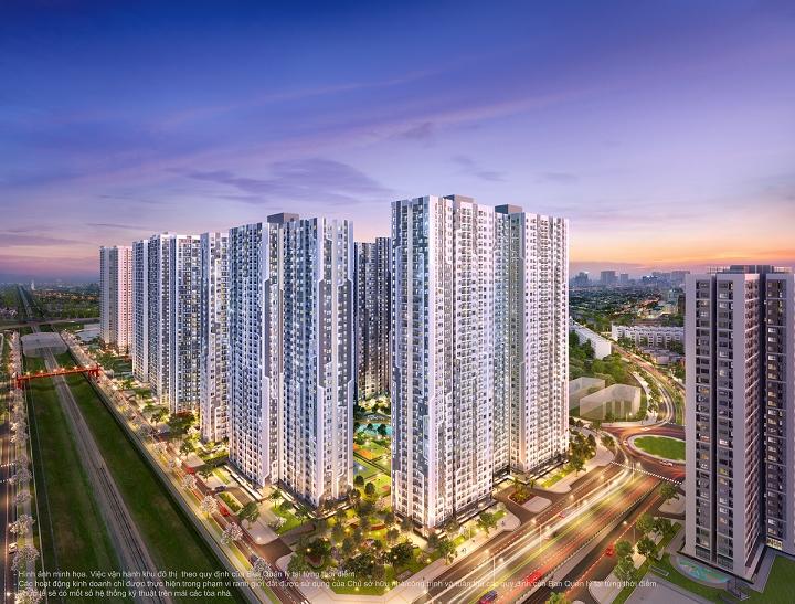 Từ GS1, cư dân có thể kết nối dễ dàng đến các khu vực xung quanh và tiện ích nội khu