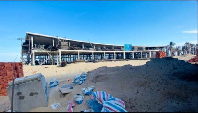 Dự án Khu du lịch Vũng Tàu Regency bị xử phạt vì sai dựng không phép