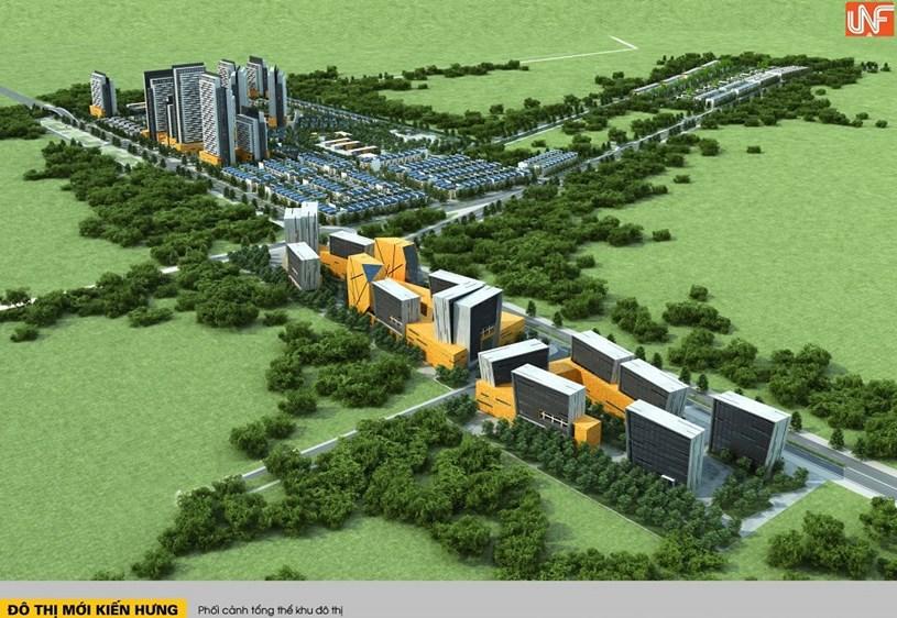 Sơn Hà từng đầu tư dự án Khu đô thị Kiến Hưng nhưng không thành công.