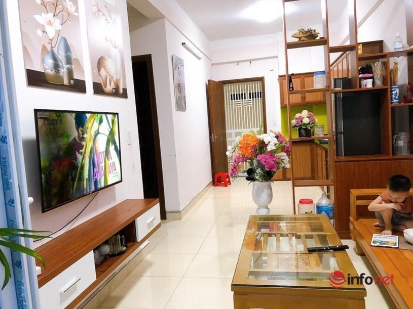 Căn hộ chung cư gần 1 tỷ đồng của 2 mẹ con Đào Thị Ngọc.