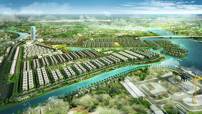 Phối cảnh dự án Khu đô thị phức hợp Hạ Long Xanh. (Nguồn: vinhomeshalongxanh.vn)