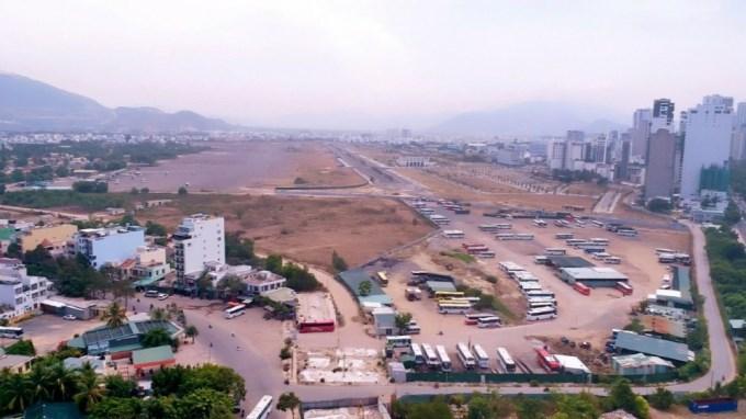Toàn cảnh dự án của Công ty Cổ phần Tập đoàn Phúc Sơn tại khu vực sân bay Nha Trang cũ.