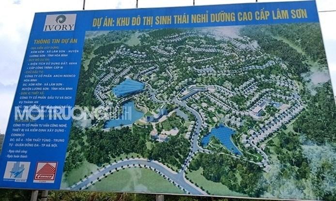 """""""Nội soi điểm mờ"""" về pháp lý của Dự án Ivory Villas Resort Hòa Bình - Ảnh 1"""