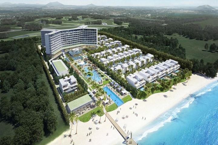 Phối cảnh dự án tổ hợp nghỉ dưỡng cao cấp Shilla Stay Resort.