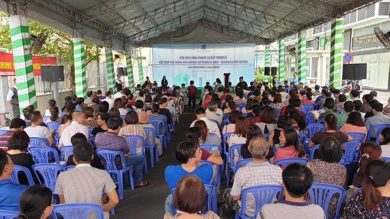 Hội nghị nhà chung cư bất thường được tổ chức với 37% cư dân tham dự.
