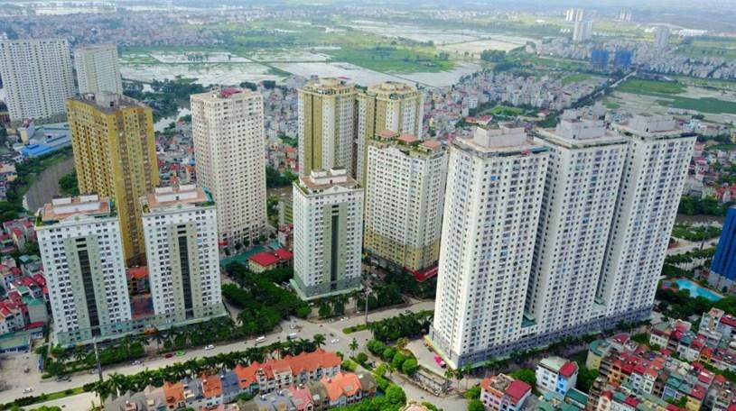 """Khu đô thị mới Xa La từng giảm """"sốc"""" giá bán căn hộ từ 4-7 triệu đồng/m2."""