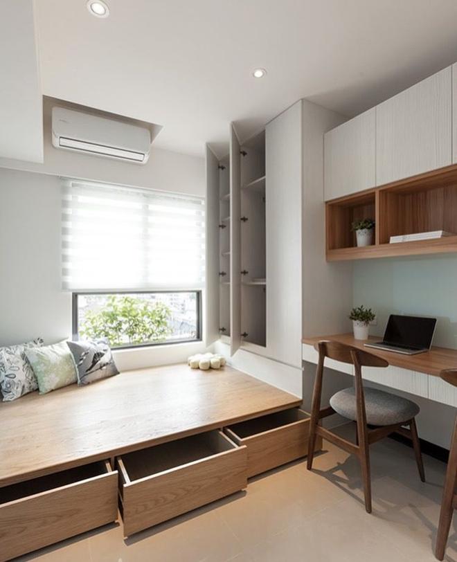 Kiến trúc sư tư vấn 6 giải pháp thiết kế cho phòng ngủ nhỏ, gợi ý loạt đồ nội thất giúp tận dụng từng centimet - Ảnh 1
