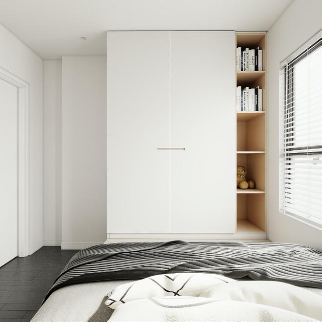 Kiến trúc sư tư vấn 6 giải pháp thiết kế cho phòng ngủ nhỏ, gợi ý loạt đồ nội thất giúp tận dụng từng centimet - Ảnh 2
