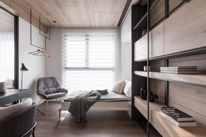 Kiến trúc sư tư vấn 6 giải pháp thiết kế cho phòng ngủ nhỏ, gợi ý loạt đồ nội thất giúp tận dụng từng centimet - Ảnh 4
