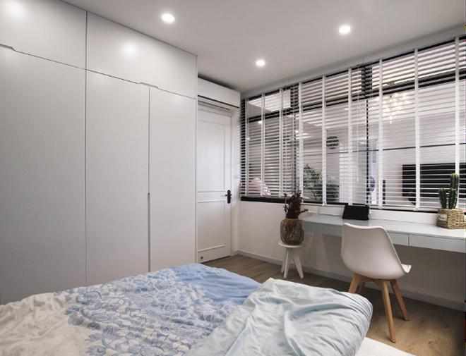 Kiến trúc sư tư vấn 6 giải pháp thiết kế cho phòng ngủ nhỏ, gợi ý loạt đồ nội thất giúp tận dụng từng centimet - Ảnh 9