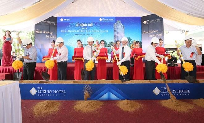 Cận cảnh tòa nhà cao nhất Bình Định sau nhiều lần được điều chỉnh qui hoạch - Ảnh 1