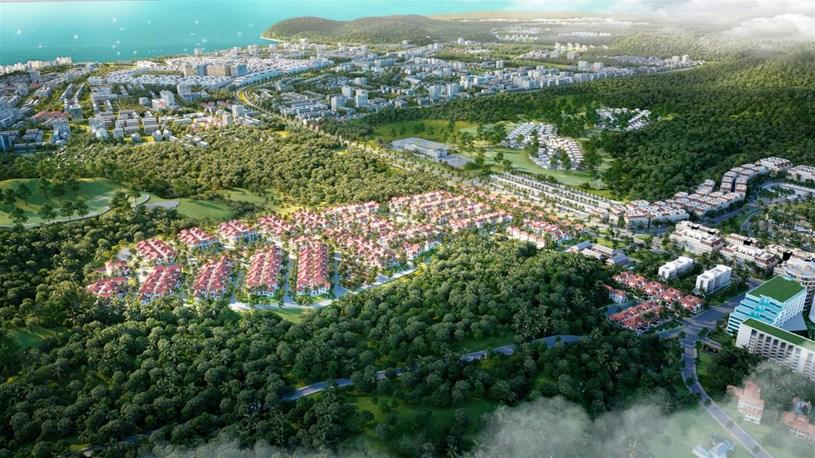 Sun Tropical Village thu hút sự quan tâm đặc biệt của thị trường (Ảnh phối cảnh minh họa).