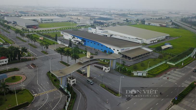 Khu công nghiệp Thăng Long có quy mô 300ha nằm ở xã Kim Chung, huyện Đông Anh đang thu hút hơn 30 nhà đầu tư đến từ Nhật Bản tham gia sản xuất. Ảnh: Trần Kháng