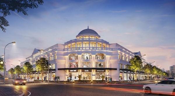 Biểu tượng kiến trúc của Vinhomes Marina - The Premium Collection - dự án BĐS hàng hiệu đang thu hút sự quan tâm của giới đầu tư. Ảnh: Vinhomes