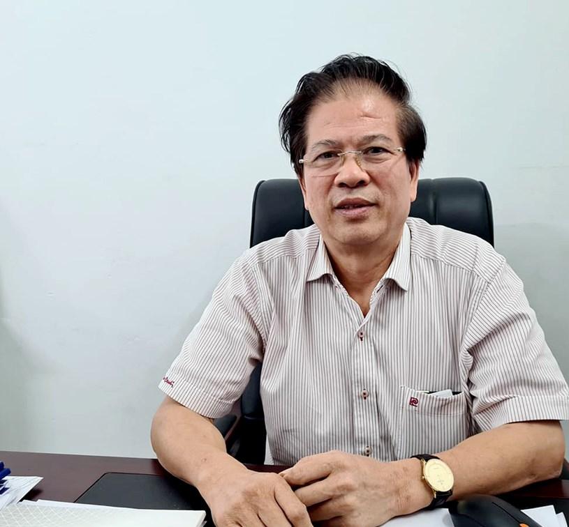 Ông Nguyễn Thế Điệp, Phó Chủ tịch CLB bất động sản Hà Nội.