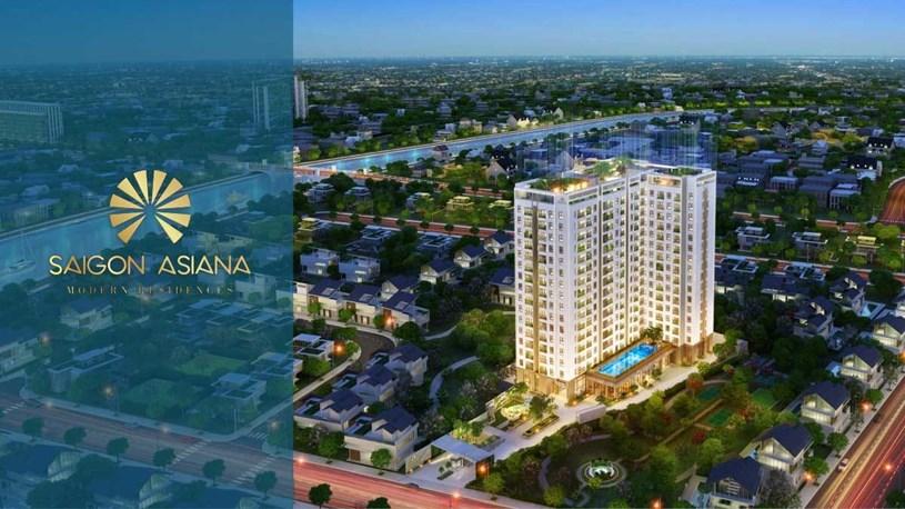 Phối cảnh Dự án Căn hộ Saigon Asiana Quận 6
