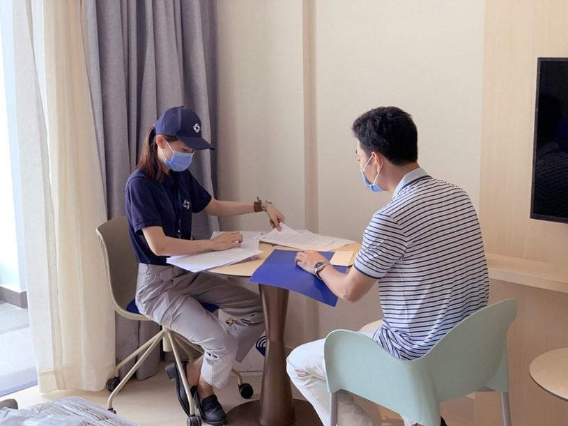 Khách hàng tại Khánh Hòa có Thẻ xanh Covid có thể đến nhận bàn giao trực tiếp tại dự án