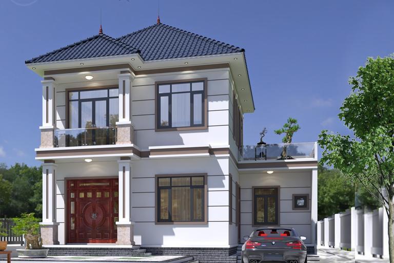 Những mẫu nhà mái Nhật đẹp nhất năm 2021 khiến ai cũng phải ngước nhìn - Ảnh 3