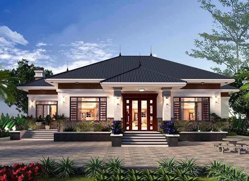 Nhiều năm gần đây, bên cạnh nhà mái Thái, nhà mái Nhật dần trở nên thịnh hành và được ưa chuộng ở cả thành thị lẫn nông thôn.