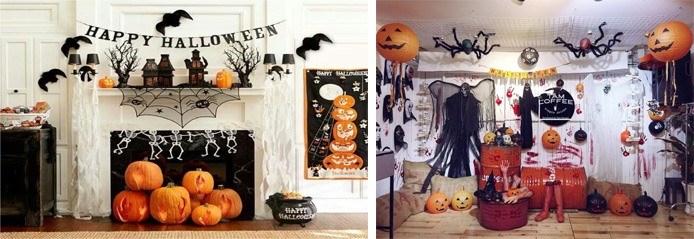 Trang trí nhà đẹp nhân lễ Halloween.
