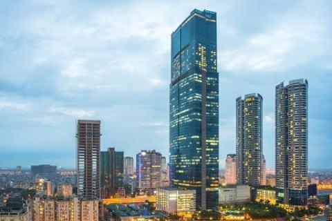 Nhiều tòa nhà cao tầng nếu xảy ra sự cố phương tiện PCCC không đủ trạng bị với tới.