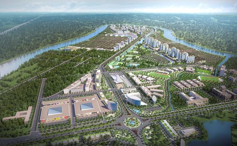Một dự án được Công ty Nam Long đầu tư tại Long An.