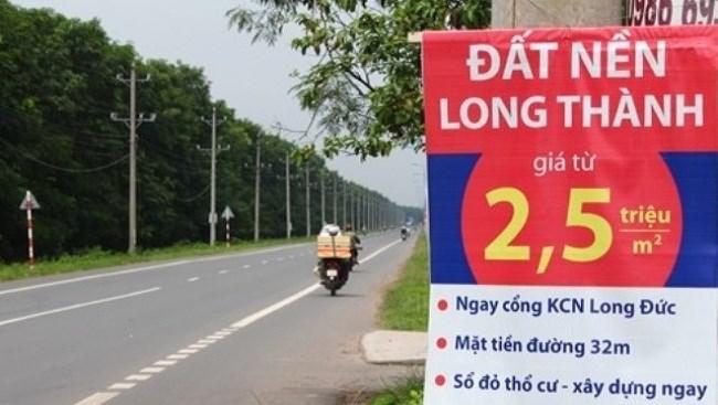 Sốt đất Long Thành: Người mua sập bẫy cò