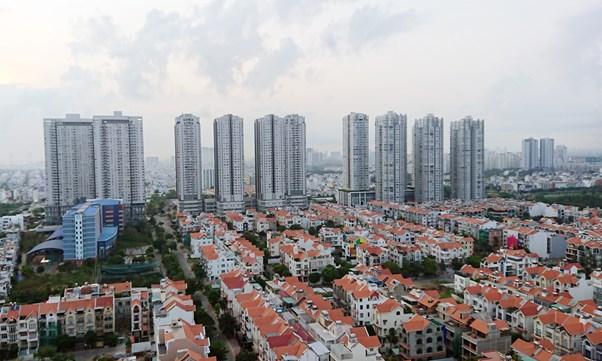 Thị trường địa ốc 'lên – xuống' suốt 10 năm qua