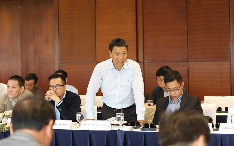 Đại diện Bộ Thông tin và Truyền thông phát biểu tại Hội nghị