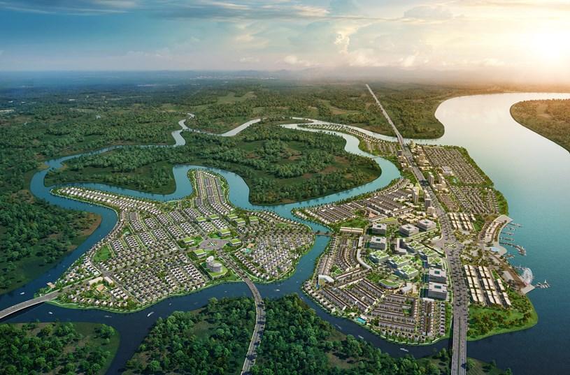 Phối cảnh dự án Aqua City.