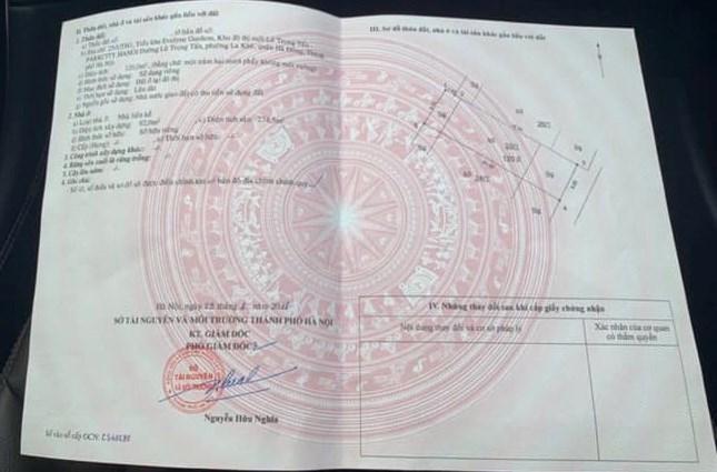 Sổ đỏ giả dùng giao dịch tại phòng công chứng Trần Gia, Hà Đông