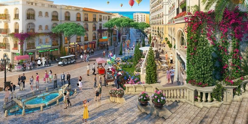 Shophouse The Center hội tụ mọi ưu thế để kinh doanh đắc lợi trong tương lai