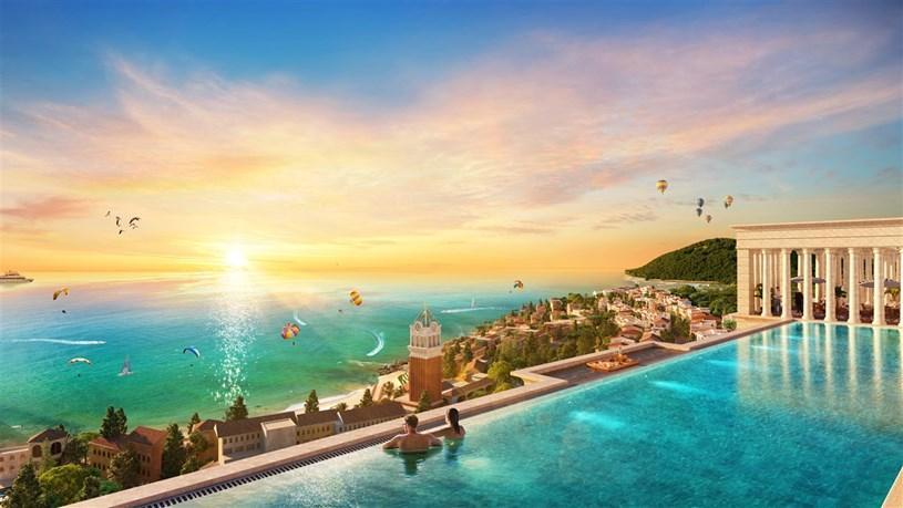 Tầm view biển đắt giá ở tổ hợp căn hộ cao tầng đầu tiên tại Phú Quốc