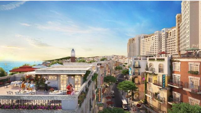 """""""Thị trấn Địa Trung Hải"""" sẽ nâng tầm diện mạo của Nam Phú Quốc"""