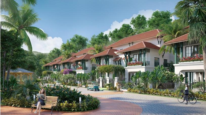 """Sun Tropical Village – """"mảnh ghép mới"""" của quần thể Bãi Kem, Nam Phú Quốc. (Hình ảnh minh họa)"""