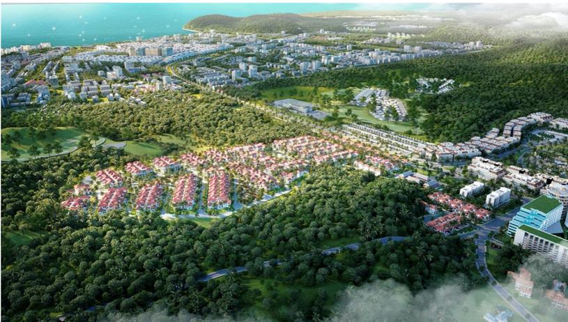 """Chủ nhân biệt thự """"ngôi làng nhiệt đới"""" thừa hưởng toàn bộ tiện ích đẳng cấp ở quần thể Bãi Kem. (Hình ảnh minh họa)"""