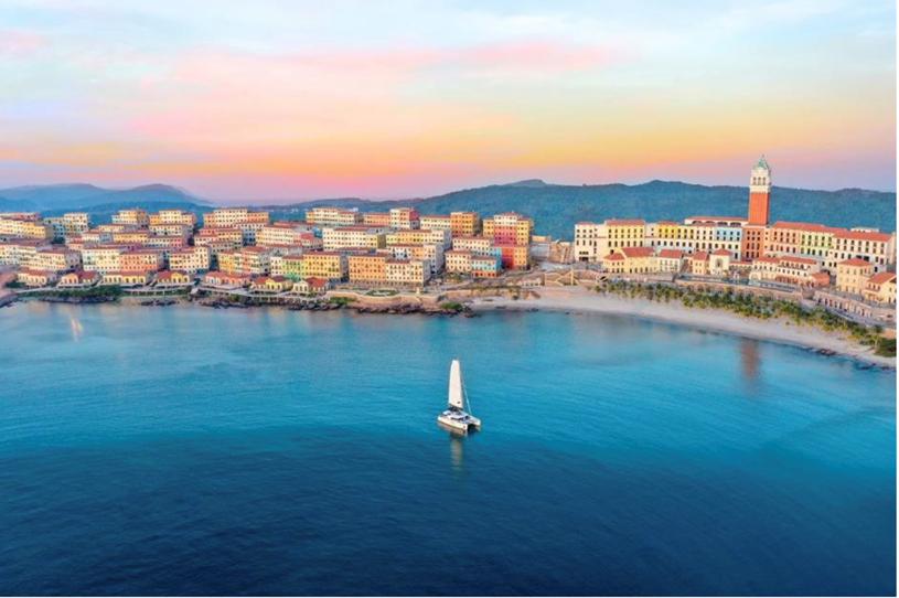 Dự án Sun Premier Village Primavera như bức tranh Địa Trung Hải đẹp ngoạn mục bên bờ biển Nam đảo Ngọc