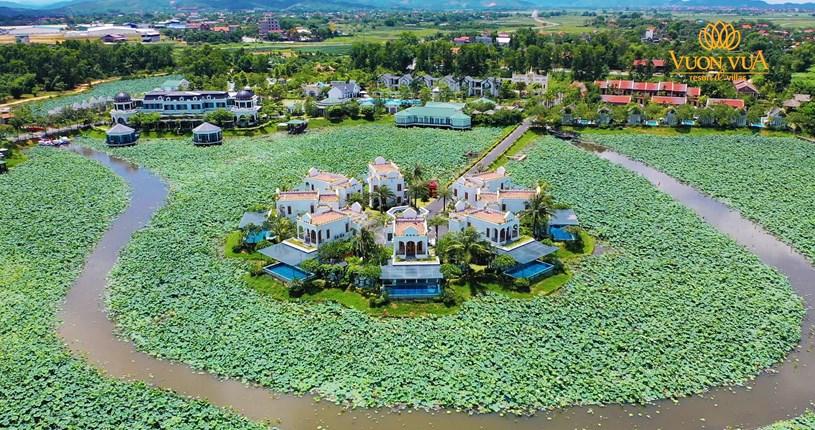 Dự án Khu du lịch, biệt thự sinh thái nghỉ dưỡng Vườn Vua - Vườn Vua resort & villas