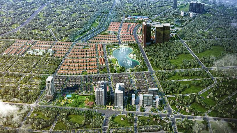 Kiến tạo không gian xanh rộng lớn là một điểm cộng lớn với KĐT Dương Nội, Anland Lakeview của CĐT Nam Cường
