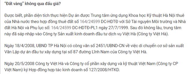 """Dự án New Horizon City 87 Lĩnh Nam: Ai vội vã mang """"đất vàng"""" đi hợp tác? - Ảnh 2"""