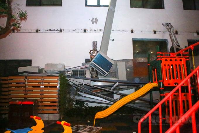 Tai nạn kinh hoàng tại chung cư An Bình (An Bình Plaza, số 97, Trần Bình- Mỹ Đình II, HN)  - Ảnh 3