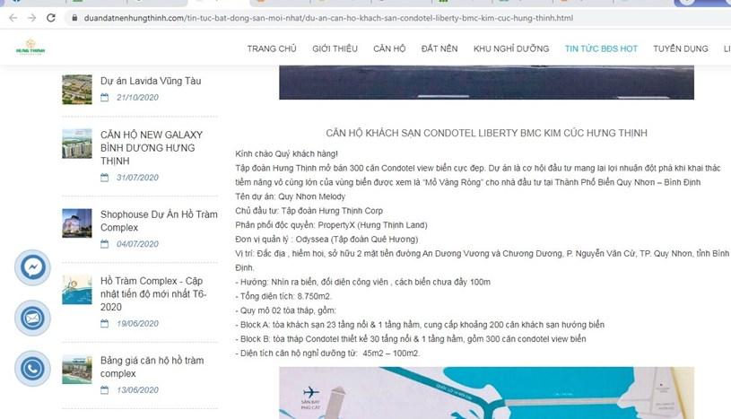 Thông tin rao bánKhu căn hộ khách sạn Kim Cúc