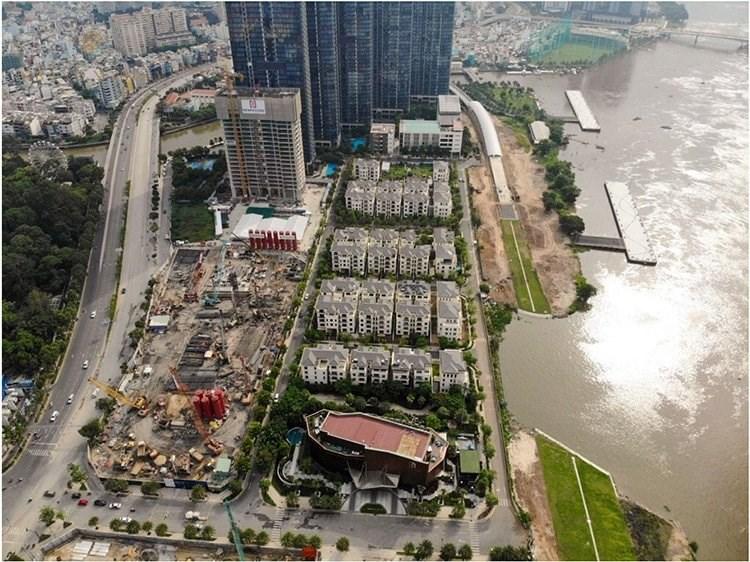 Tiến độ dự án Grand Marina Saigon. Ảnh chủ đầu tư Masterise Homes