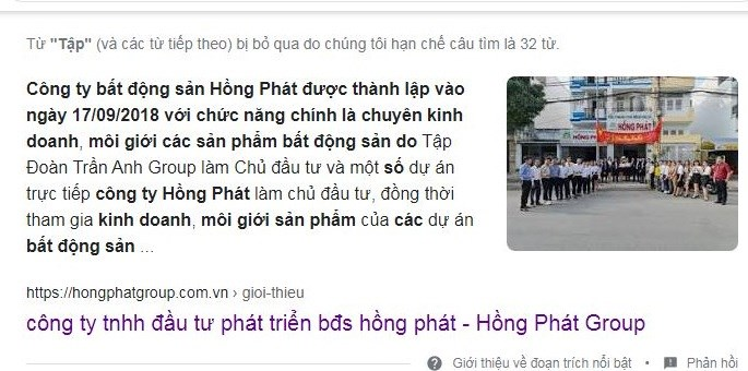 """Công ty Hồng Phát rao bán hàng loạt dự án ma, """"nhận vơ"""" ''họ hàng'' với Trần Anh Group  - Ảnh 1"""