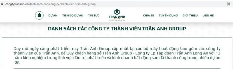"""Công ty Hồng Phát rao bán hàng loạt dự án ma, """"nhận vơ"""" ''họ hàng'' với Trần Anh Group  - Ảnh 3"""