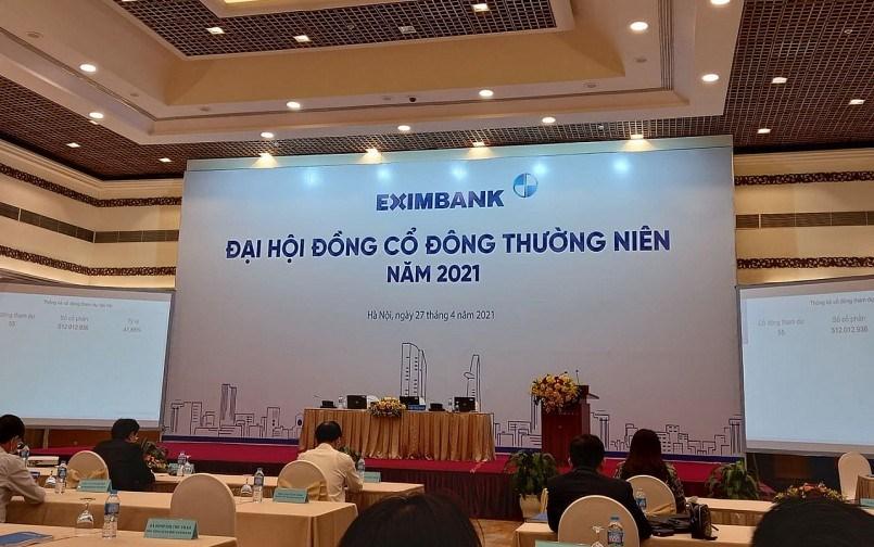 Đại hội đồng cổ đông thường niên của Eximbank ngày 27/4/2021 cũng không thành công