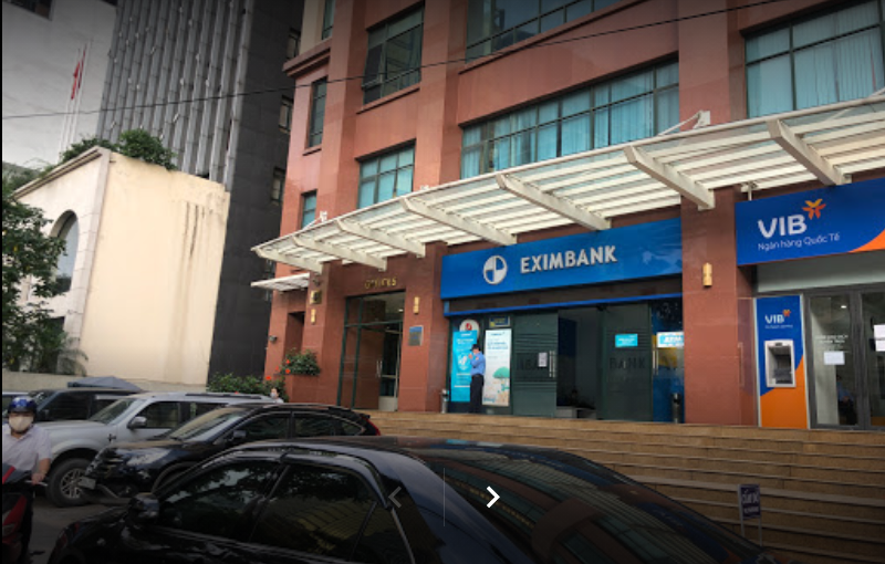 Trụ sở Ngân hàng Eximbank Chi nhánh Ba Đình